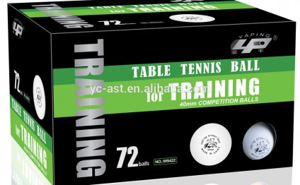 New Celluloid table tennis