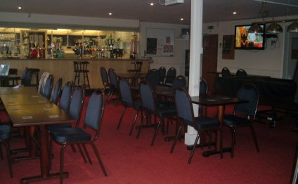 Clubhouse interior showing