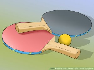 Image titled Take Care of Table Tennis Equipment Step 1