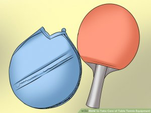 Image titled Take Care of Table Tennis Equipment Step 5