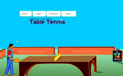Table Tennis Flash game