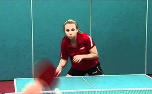 Forehand topspin Table Tennis