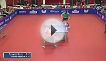 2015 Hyson Chicago International Table Tennis Open - Open