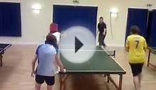 Funny Chinese Table Tennis