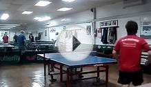 Ivan Quek VS Richard Liu (new york table tennis club )