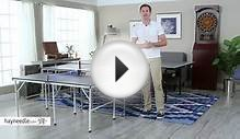 JOOLA Table Tennis Tables Collection - Product Review Video