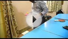 Most Bounces Of A Table Tennis Ball On A Paddle In One Minute