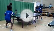 Segun Toriola @ Dulwich Table Tennis Club before London 2012