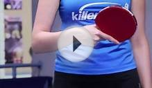 Table Tennis : How to Hold a Table Tennis Racquet