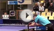 Table tennis Lin Ju Simon Gauzy French Pro A 2011 2012