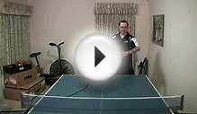 Table Tennis - Return of Serve with Long Pips and Antispin