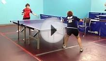 Team USA Real Training Drills in Las Vegas Table Tennis Club